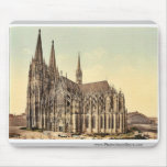 The cathedral, side, Cologne, the Rhine, Germany r Mousepad