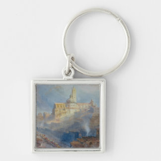 The Cathedral, Siena, 1902 Keychain