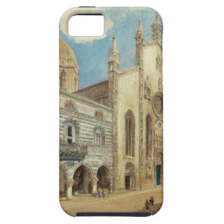 The Cathedral Square in Como by Rudolf von Alt iPhone 5 Cover