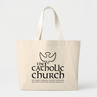 The Catholic Church. Largest Charismatic Church Tote Bag