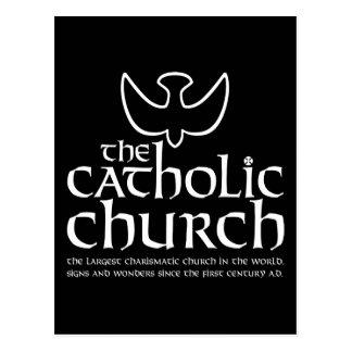 The Catholic Church. Largest Charismatic Church Postcard