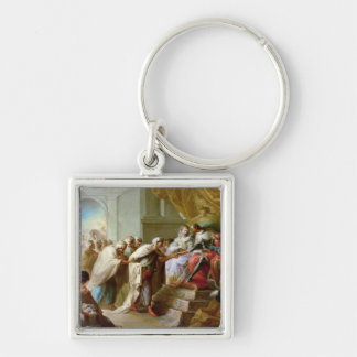The Catholic King and Queen Keychain