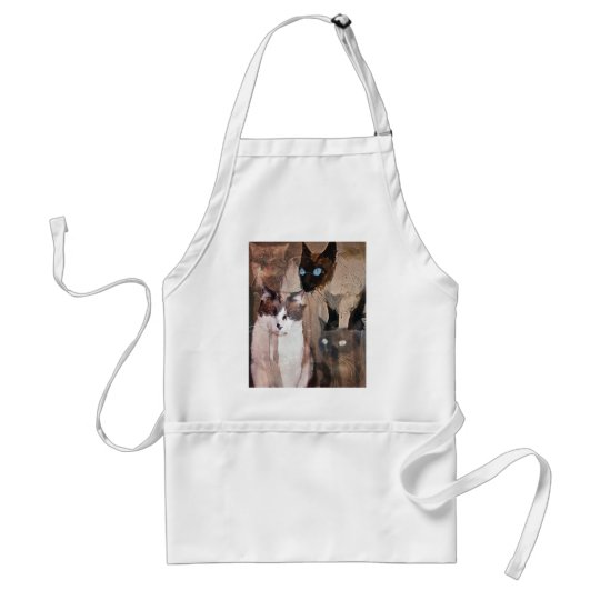The Cats Adult Apron
