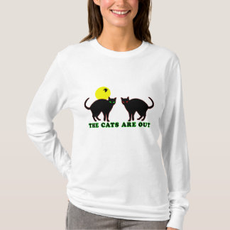 The Cats Are Out T-Shirt