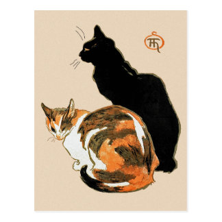 The Cats by Theophile Steinlen Postcard