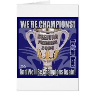 The Cats - Champions 2009 Card