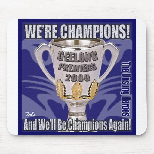 The Cats - Champions 2009 Mouse Pad