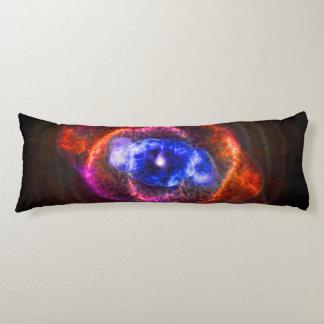 The Cats Eye Nebula astronomy image Body Pillow