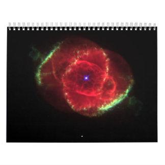 The Cat's Eye Nebula Wall Calendar