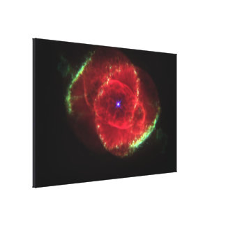 The Cat's Eye Nebula Canvas Print