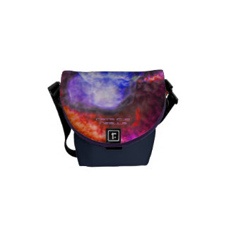 The Cats Eye Nebula Courier Bag