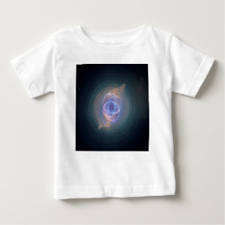 The Cat's Eye Nebula Dying Star Gas and Dust Baby T-Shirt
