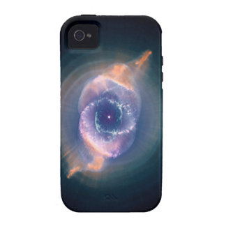 The Cat's Eye Nebula: Dying  Star Gas and Dust iPhone 4 Cover