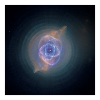 The Cat's Eye Nebula Dying Star Gas and Dust Posters