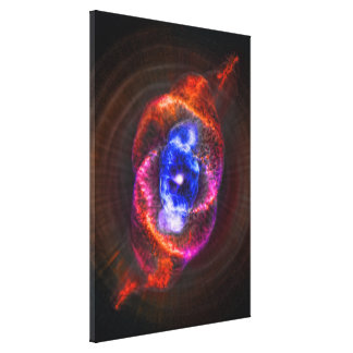 The Cats Eye Nebula - expanding red giant Canvas Print