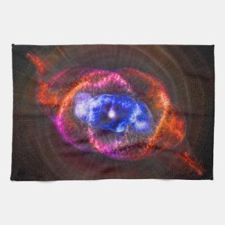 The Cats Eye Nebula Hand Towel