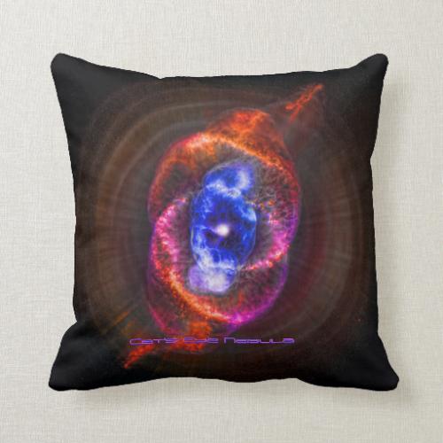 The Cats Eye Nebula Pillow