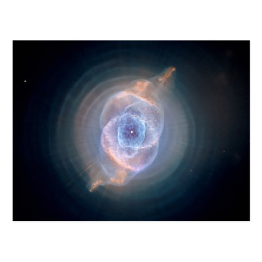 The Cat's Eye Nebula Postcard