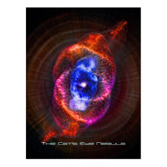 The Cats Eye Nebula Postcard