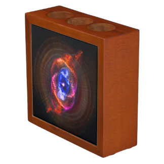 The Cats Eye Nebula space image Pencil/Pen Holder