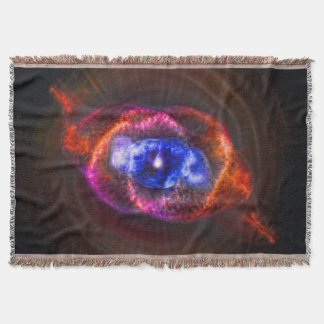 The Cats Eye Nebula space image Throw
