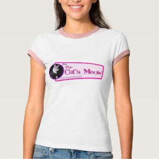 The Cat's Meow Logo Ringer Tee