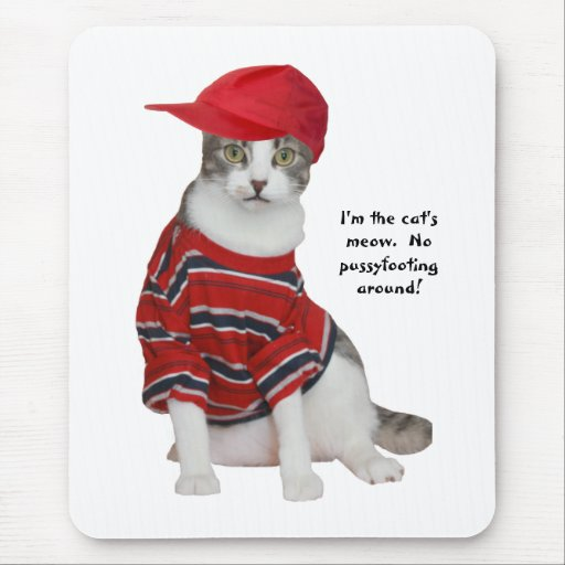 The Cat's Meow Mouse Pad