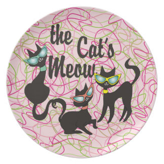 The Cat's Meow Plate