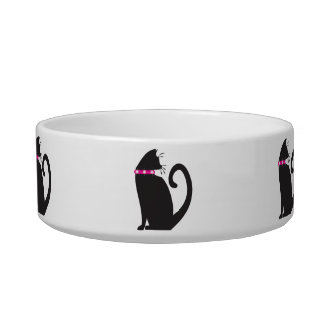 The Cat's Meow Rescue Kitty Bowl (with black cat)