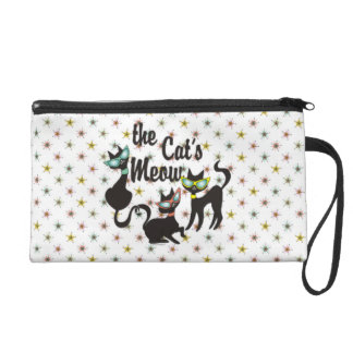 The Cat's Meow Wristlet