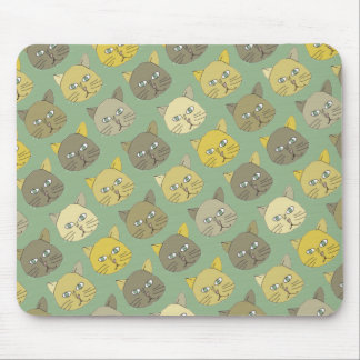 the cats mouse pad