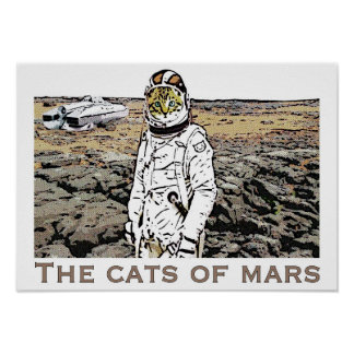 The Cats of Mars Poster