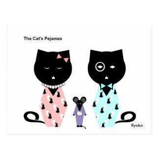 The Cat's Pajamas Postcard
