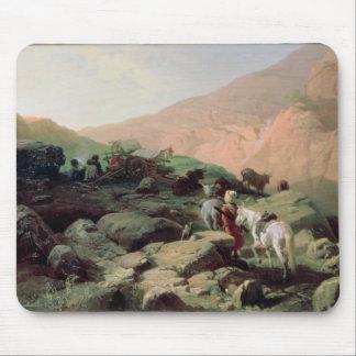 The Caucasus, 1872 Mousepads