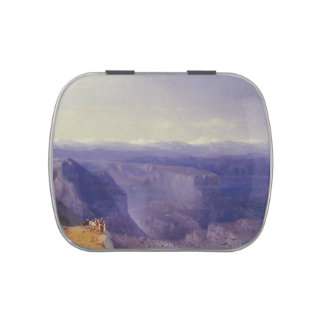 The Caucasus by Ivan Aivazovsky Jelly Belly Candy Tins
