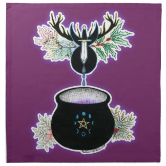 The Cauldron Born Cloth Napkin