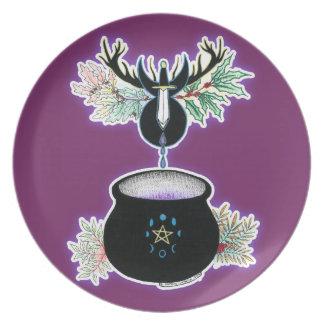 The Cauldron Born Dinner Plates
