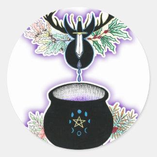 The Cauldron Born Classic Round Sticker