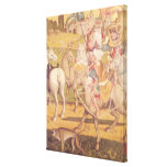The Cavalcade of the Magi, c.1460 Canvas Print