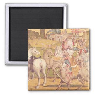The Cavalcade of the Magi, c.1460 Fridge Magnet