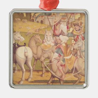 The Cavalcade of the Magi, c.1460 Metal Ornament