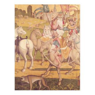 The Cavalcade of the Magi, c.1460 Postcard