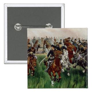 The Cavalry, 1895 Pinback Button