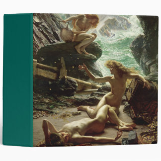 The Cave of the Storm Nymphs, 1903 (oil on canvas) 3 Ring Binders