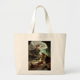 The Cave of the Storm Nymphs, 1903 (oil on canvas) Large Tote Bag