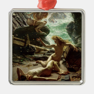 The Cave of the Storm Nymphs, 1903 (oil on canvas) Metal Ornament