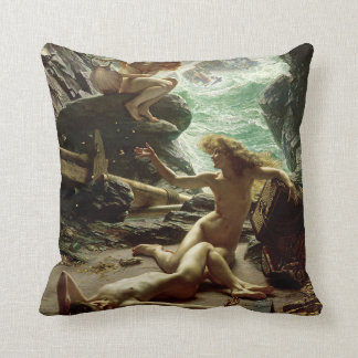 The Cave of the Storm Nymphs, 1903 (oil on canvas) Pillow