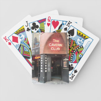 The Cavern Club in Liverpool's Mathew Street Bicycle Playing Cards