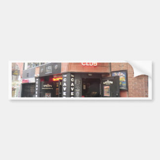 The Cavern Club in Liverpool's Mathew Street Bumper Sticker