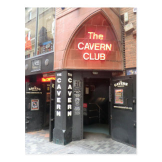 The Cavern Club in Liverpool's Mathew Street Postcard